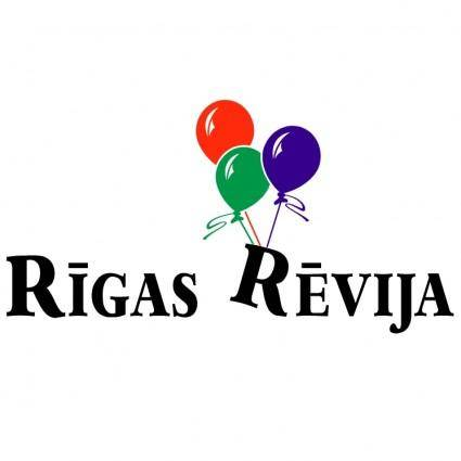 free vector Rigas revija