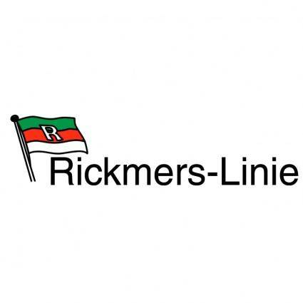 free vector Rickmers linie