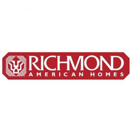 free vector Richmond american homes