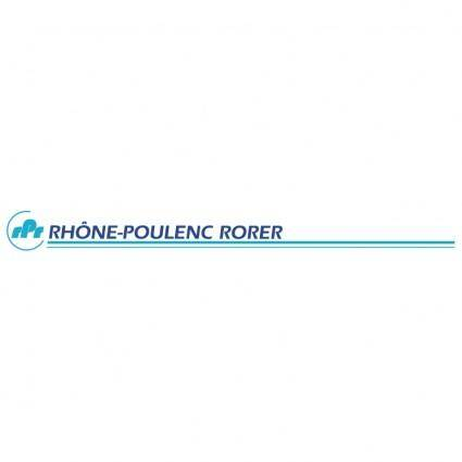 free vector Rhone poulenc rorer