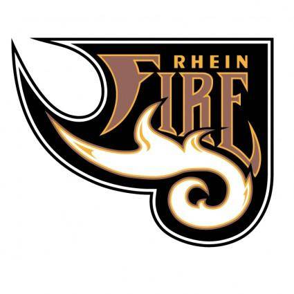 free vector Rhein fire