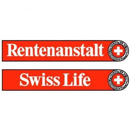 free vector Rentenanstalt swiss life
