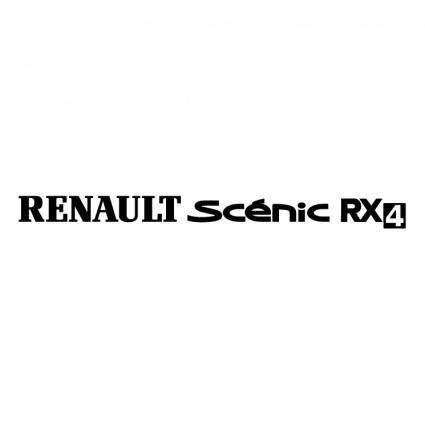free vector Renault scenic rx4