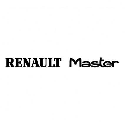 free vector Renault master