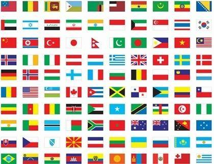 free vector Free Vector Flags of The World