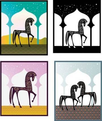 free vector Free Vector Graphics  One Thousand Nights and One