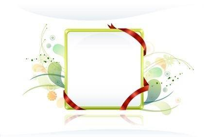 free vector Free Vector Frames with Ribbon