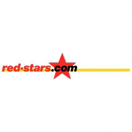 free vector Red starscom