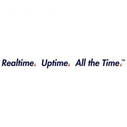 free vector Realtime uptime all the time