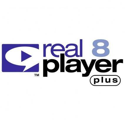 free vector Realplayer 8 plus