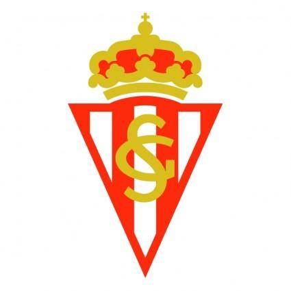 free vector Real sporting de gijon 0