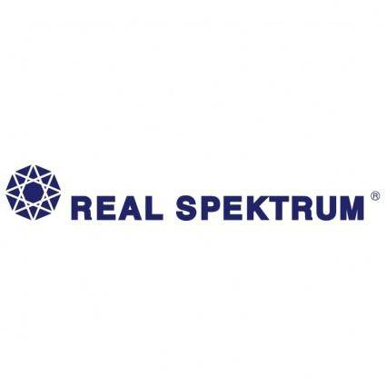 Real spektrum