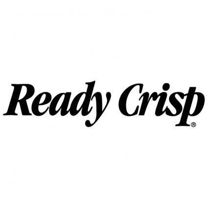 Ready crisp