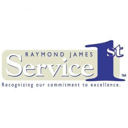 free vector Raymond james service 1st