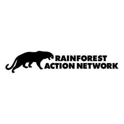 free vector Rainforest action network
