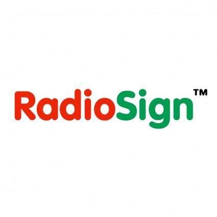 Radiosign