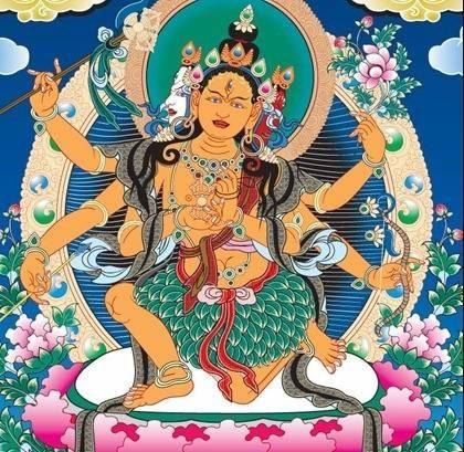 Tibetan Buddhist Thangka Vector Free Download