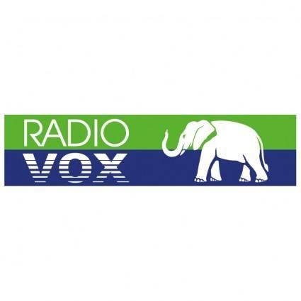 free vector Radio vox 0