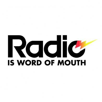 free vector Radio marketing bureau