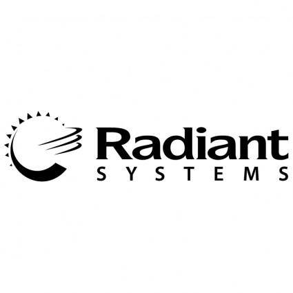 free vector Radiant systems