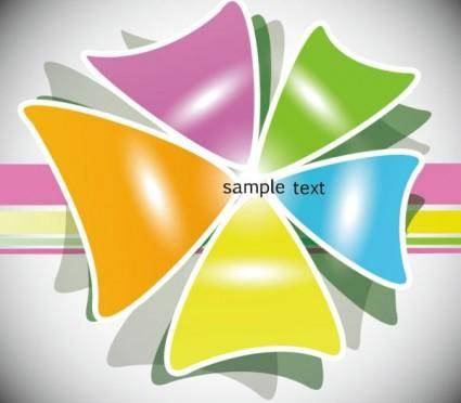 Color stacker 01 vector