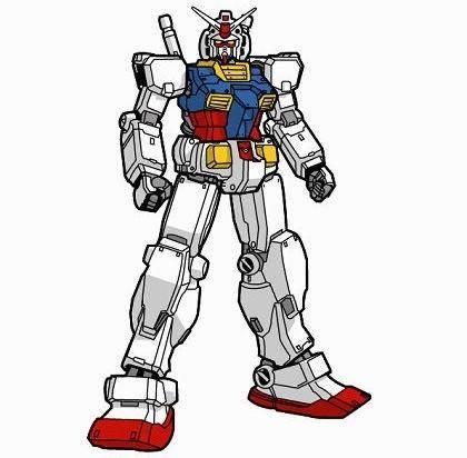 Free Gundam Rx782 Vector Graphic