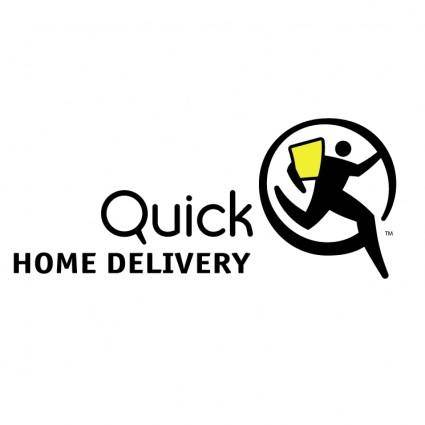free vector Quick home delivery