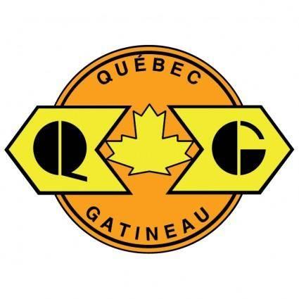 free vector Quebec gatineau railway