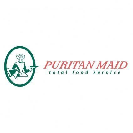 free vector Puritan maid