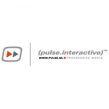 free vector Pulse interactive