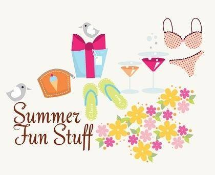 Free Vector  Summer Fun Stuff!