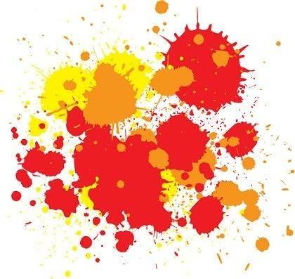 free vector Free Vector  Splats and Hatchings