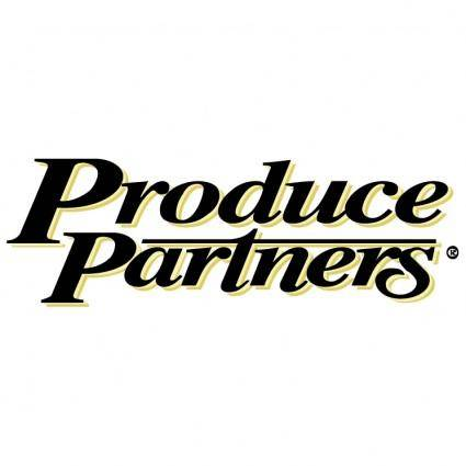 free vector Produce partners