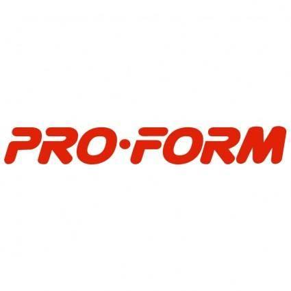 Pro form 0