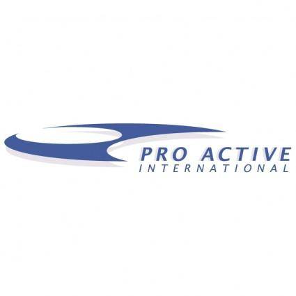 free vector Pro active international