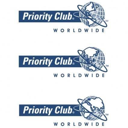 free vector Priority club worldwide