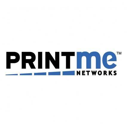 free vector Printme networks