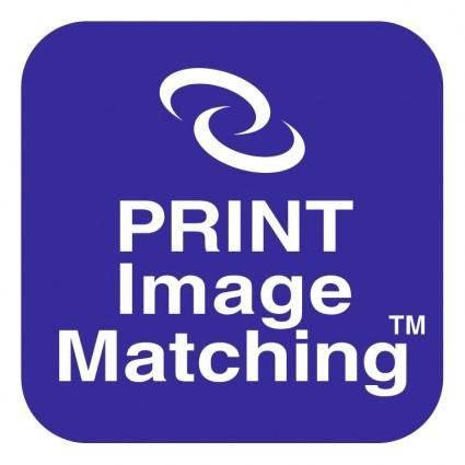 Print image matching