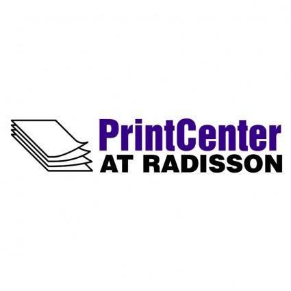 free vector Print center at radisson