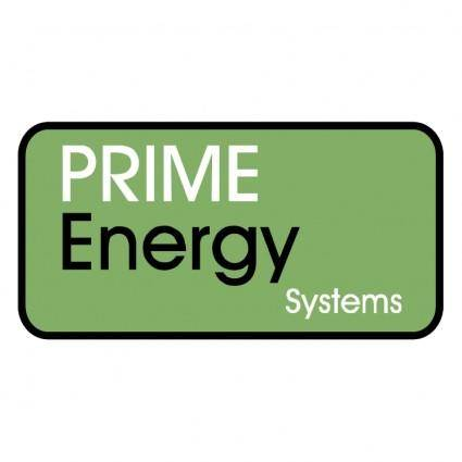 Prime energy systems