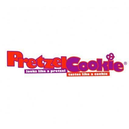 free vector Pretzel cookie