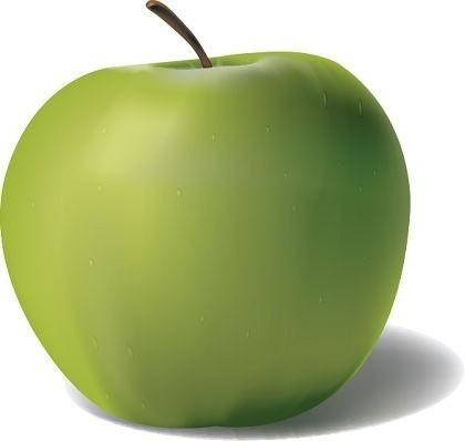 Free Vector Apple Graphic