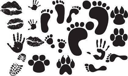free vector Free Foot,Hand,Lips Print Vectors