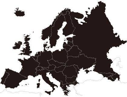 free vector Europe Map Vector
