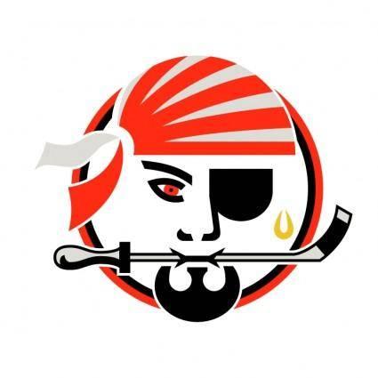 free vector Portland pirates