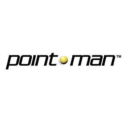 free vector Pointman