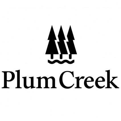 free vector Plum creek