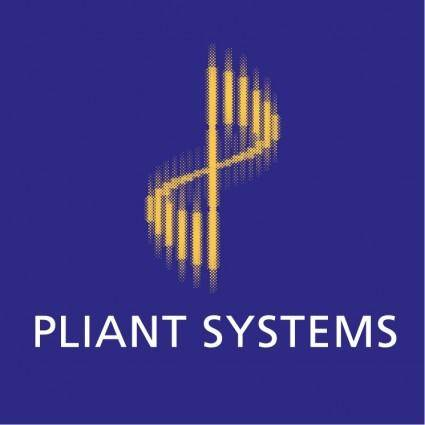 free vector Pliant systems