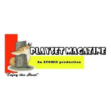 free vector Playset magazine
