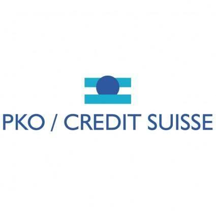 Pko credit suisse
